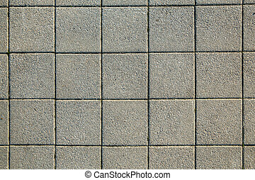 Pavement texture. Grey. Tile. Background. Square. Pattern
