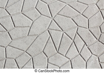 Pavement tile texture abstract background