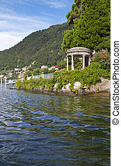 Pavilion at Lake Como, Italy