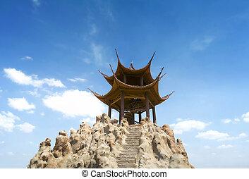 Pavilion in chinese garden