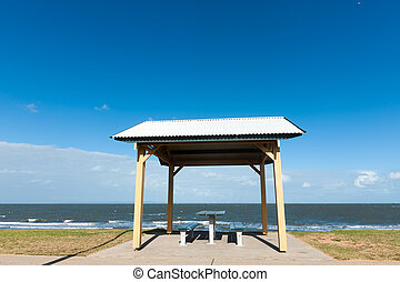 Pavilion near the beach