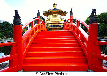 Pavilion of Absolute Perfection in the Nan Lian Garden, Hong Kong.