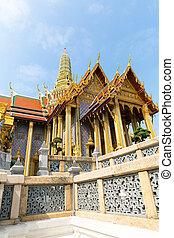 Pavilion of Wat Po Temple