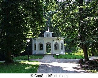 Pavilion park Maksimir Zagreb