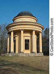 pavillon, classicist, tempel, -, groß