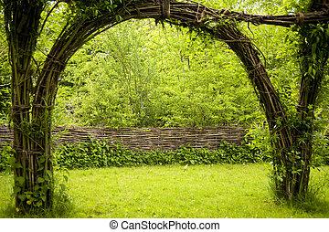 Pavillon in a Garden