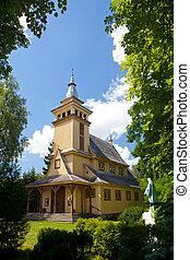 Pavilnys church in Vilnius, Lithuania