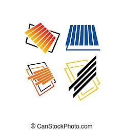 pavimentazione, vettore, piastrella, illustrazioni, parquet, logotipo, disegno, laminate