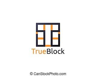 pavimento, parete, alfabeto, astratto, simbolo., segno, t, lettera, piastrella, logotipo, icon., blocco