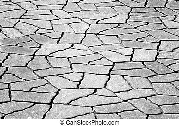 Paving cement block background texture