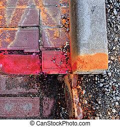 paving needing repair