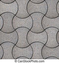 Paving Slabs. Seamless Tileable Texture. - Gray Figured ...