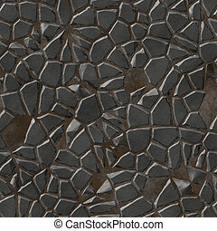 Paving stones abstract seamless generated hires texture