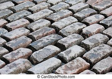 Paving stones background.