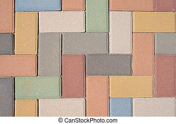 Paving stones pattern, background