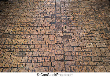 Paving walkway