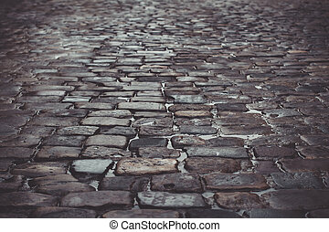 Pavingstones after the rain