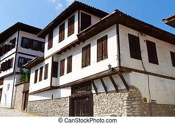 pavo, casa, safranbolu, tradicional, otomano