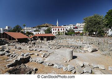 pavo, mausoleo, bodrum, halicarnassus