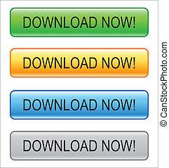 """pavučina, knoflík, """"download, now!"""""""