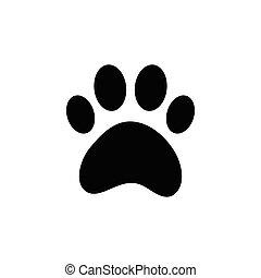 paw of dog