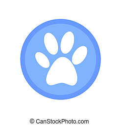 Paw prints icon.