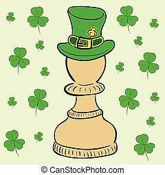 Pawn of a St. Patrick's Day