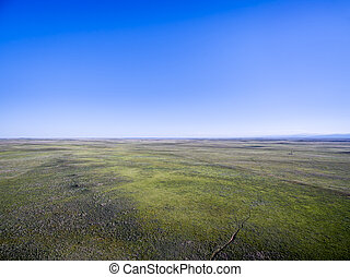 Pawnee National Grassland aerial view - Pawnee National ...