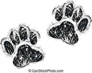 paws, cane