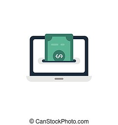 pay flat icon