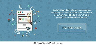 Pay per click website banner.