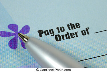 Pay To The Order Of