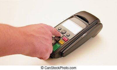 payant, appareil, tablette