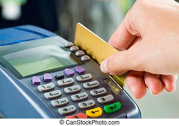 payant, carte