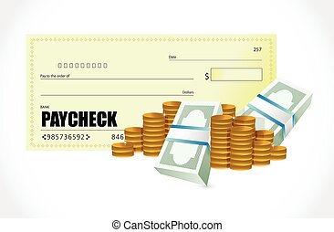 paycheck vector clipart eps images 208 paycheck clip art vector rh canstockphoto com paycheck clip art Paycheck Humor