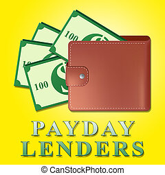 payday lenders represents earnings loan drawing_csp48062646