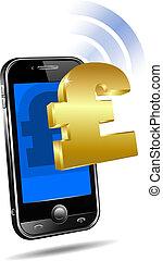 payer, par, mobile, cellule, intelligent, téléphone