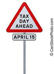 payer, ton, impôts