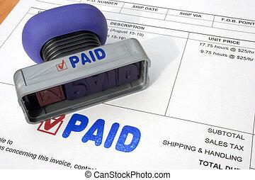 Paying Bills - Paying bills