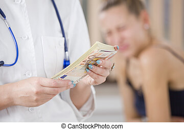 paying for medical treatment
