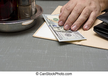 Paying In Restaurant