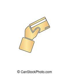 payment card computer symbol