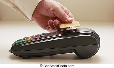 Payment for goods - Payment in a trade with nfc system and...