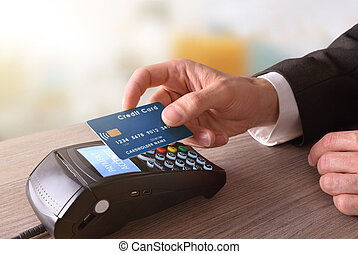 Payment on a trade through mobile NFC technology - Payment...