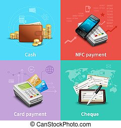 Payment Realistic Set