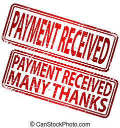 Payment Received Stamp