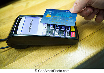 Payment with nfc system