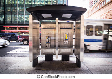 Payphone - Pay phone on NYC corner