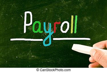 payroll concept