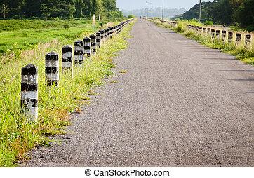pays, asphaltez route